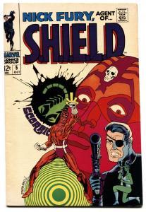 NICK FURY, AGENT OF S.H.I.E.L.D. #5 comic book 1968-MARVEL-STERANKO