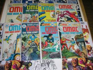 OMAC (1974-1975) 1-8 another Kirby Classic VG-F