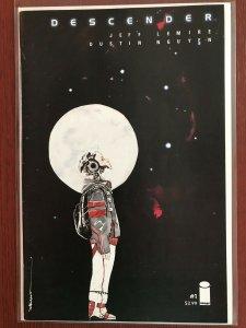 DESCENDER 1 1st Print TV SHOW Jeff Lemire Dustin Nguyen  VF/NM