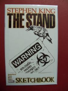 THE STAND, SKETCHBOOK  (9.0 to 9.4 or better)