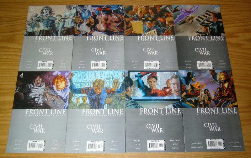 Civil War: Front Line #1-11 VF/NM complete series - 1st appearance of penance