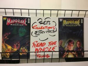 MANDRAKE (1995) 1-2  Lee Falk's complete!