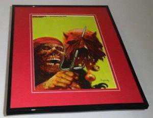 Elektra Marvel Zombies #3 Framed 11x14 Poster Display