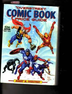 Overstreet Comic Book Price Guide 42nd Edition 2012 - 2013 Avengers Thor JL7