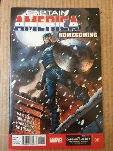 Captain America: Homecoming #1 (2014)