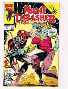 Night Thrasher Four Control #3 VF Marvel Comics Comic Book Dec 1992 DE40 AD14