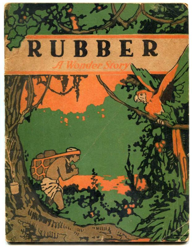 Rubber a Wonder Story 1919- George Carlson art- John Martin