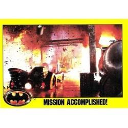 1989 Batman The Movie Series 2 Topps MISSION ACCOMPLISHED! #177