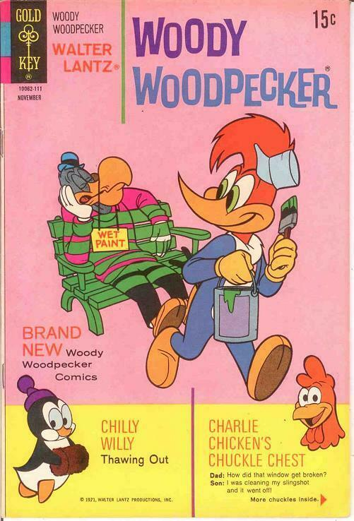 WOODY WOODPECKER 120 VF-NM November 1971 COMICS BOOK
