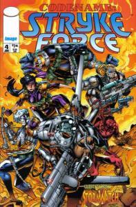 Codename: Stryke Force #4, VF+ (Stock photo)