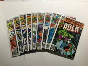 Incredible Hulk 251-253 257-260 279 Lot Run Set Very Fine Or + 8.0+ Marvel