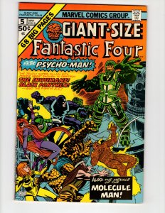 Giant-Size Fantastic Four #5 (VF-) ID#43P