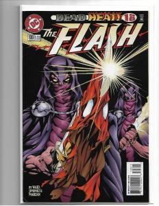Flash (2nd Series) #108 1995 - NM/NM+ 1ST APP SAVITAR