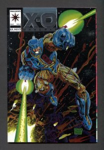 X-O Manowar #0  / 9.8 NM-MT  August 1992