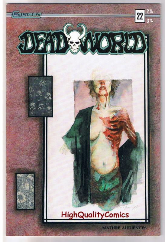 DEADWORLD 22, NM-, Vincent Locke, Zombies, Undead, 1986, more Horror in store
