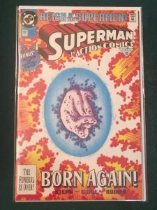 Action Comics #687 Reign of the Supermen