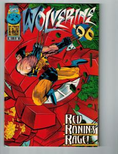 Wolverine Annual # 1996 Marvel Comic Book X-Men Nightcrawler Cyclops Storm S2