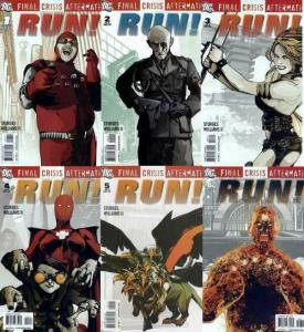 FINAL CRISIS AFTERMATH RUN (2009) 1-6  complete tie-in!