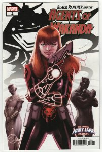 Black Panther And The Agents Of Wakanda #2 Mary Jane Variant (Marvel, 2019) NM