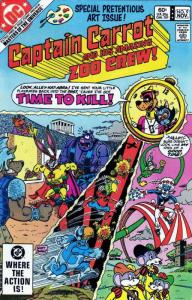 Captain Carrot and His Amazing Zoo Crew #9 VG; DC | low grade comic - save on sh