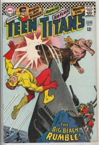 Teen Titans, The # 9 Strict FN/VF+ High-Grade 1st Capt. Tiger Artist Nick Cardy