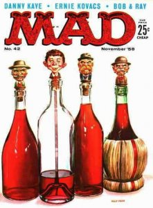 Mad #42 VG; E.C   low grade comic - save on shipping - details inside