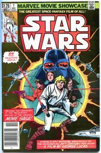 MARVEL MOVIE Showcase STAR WARS #1, VF, Darth Vader, 1982, more SW in store