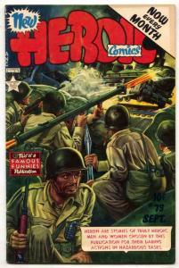 Heroic Comics #75 1952- Bazooka cover VG/F