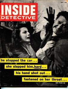 Inside Detective-Pulp-5/1955-Murder-Killer-Execution-VG