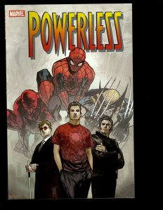 Powerless Marvel Comic Book TPB Graphic Novel Spider-Man What Makes a Hero J401