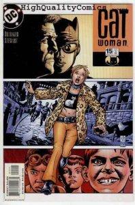 CATWOMAN #15,  NM+, Feline , Ed Brubaker, Femme Fatale, 2002, more in our store