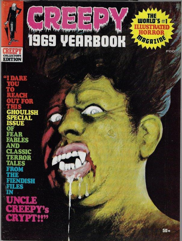 Creepy 1969 Yearbook (Warren, 1969) VF/NM to NM-