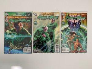 Flashpoint  Abin Sur the Green Lantern  miniseries # 1 - 3   DC Comics 2011 NM