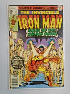 Iron Man (1st Series) #107, Water Stain 4.0 (1978)