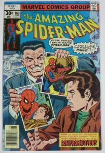 AMAZING SPIDER-MAN  #169 (Marvel,6/1977) FINE (F) Dr. Faustus! Wein & Andru
