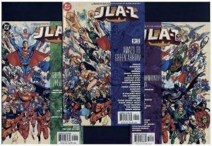 JLA-Z 1-3 A To Z GUIDE TO DC SUPER-HEROES
