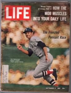 Life 9/8/1967-Carl Yastrzemski -Boston Red Sox-G
