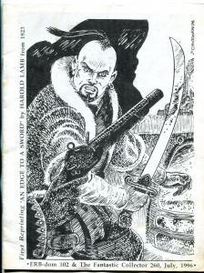 ERB-Dom fanzine #102 1996- Harold Lamb- pulpdom vg