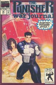 Punisher War Journal (1988 series) #40, NM- (Stock photo)