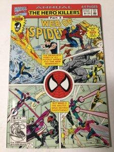 Web Of Spider-man Annual 8 Nm Near Mint Marvel
