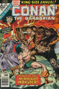 Conan the Barbarian Annual #2 VG; Marvel | low grade comic - save on shipping -