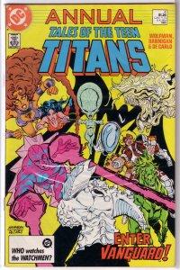 Tales of the Teen Titans  Annual #4 FN/VF (rep. NTT Ann. 1)