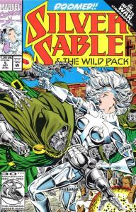 Silver Sable and the Wild Pack #5, NM + (Stock photo)