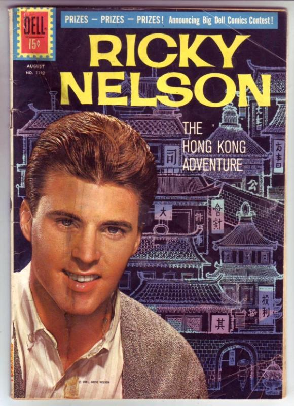 Four Color #1192 (Aug-61) VG Affordable-Grade Ricky Nelson