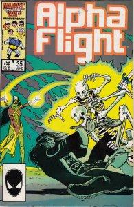 Alpha Flight #35 (1986)