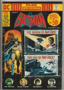 DC 100-Page Super Spectacular #20 (Sep-73) VF/NM+ High-Grade Batman, Robin th...