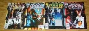 X-Men: Black Sun - Magik #1-4 VF/NM complete series - dan abnett - andy lanning