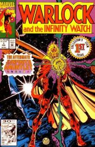 Warlock and the Infinity Watch #1, NM (Stock photo)