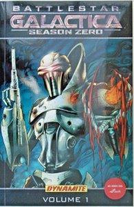 *Battlestar Galactica Season Zero TP 1-2, 1st Edition, Drawn cover set