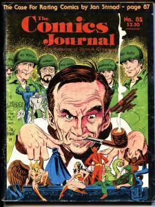 Comics Journal #85-1983 1st appearance BLACK COSTUME SPIDER-MAN